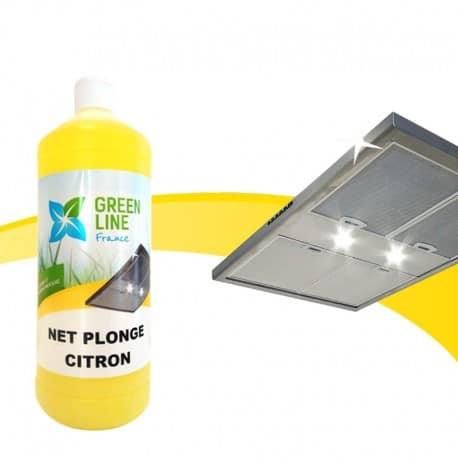 Nettoyant vaisselle citron