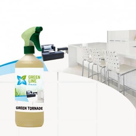 Nettoyant désinfectant biodégradable